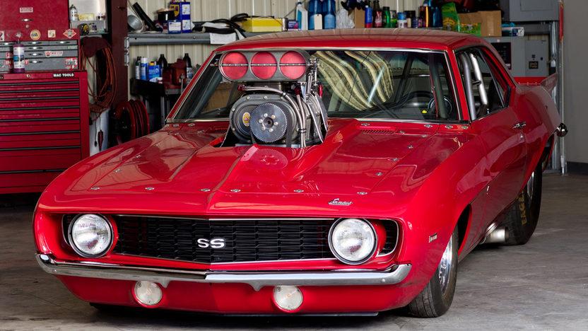 1969 Chevrolet Camaro Pro Street Car Craft Best Street Machine Build presented as lot S125 at Anaheim, CA 2013 - image12