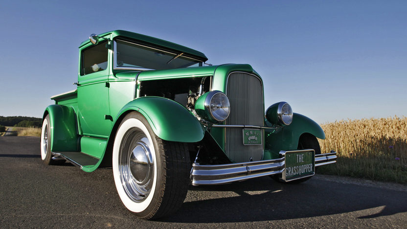 1931 Ford Model A Pickup The Grasshopper, Built by the Alexander Bros presented as lot S134 at Anaheim, CA 2013 - image12