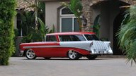 1956 Chevrolet Nomad Resto Mod LS1/400 HP, Art Morrison Chassis presented as lot S135 at Anaheim, CA 2013 - thumbail image3