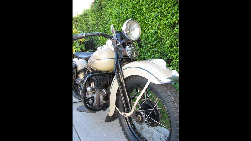 1938 Harley-Davidson WLD Solo Sport Formerly Owned by Steve McQueen presented as lot S138.1 at Anaheim, CA 2013 - image5