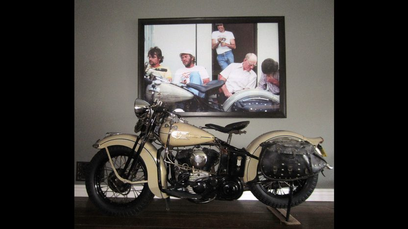 1938 Harley-Davidson WLD Solo Sport Formerly Owned by Steve McQueen presented as lot S138.1 at Anaheim, CA 2013 - image6