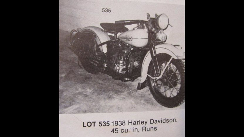 1938 Harley-Davidson WLD Solo Sport Formerly Owned by Steve McQueen presented as lot S138.1 at Anaheim, CA 2013 - image8