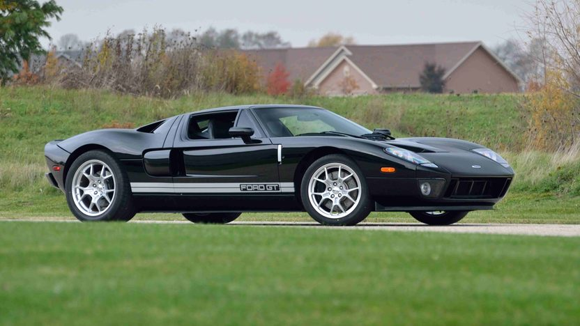 2006 Ford GT 9,422 Miles presented as lot S114.1 at Anaheim, CA 2013 - image12
