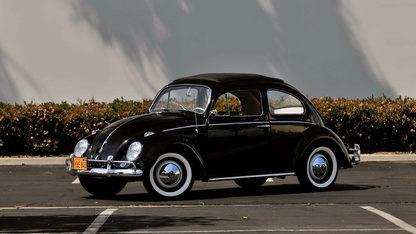 1960 Volkswagen Beetle Rag Top