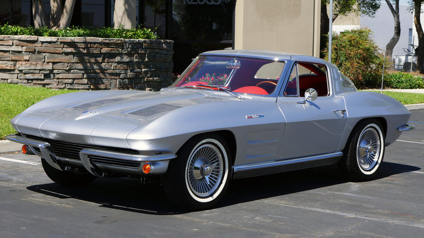 1963 chevrolet corvette split window coupe mecum anaheim for 1963 split window corvette 427