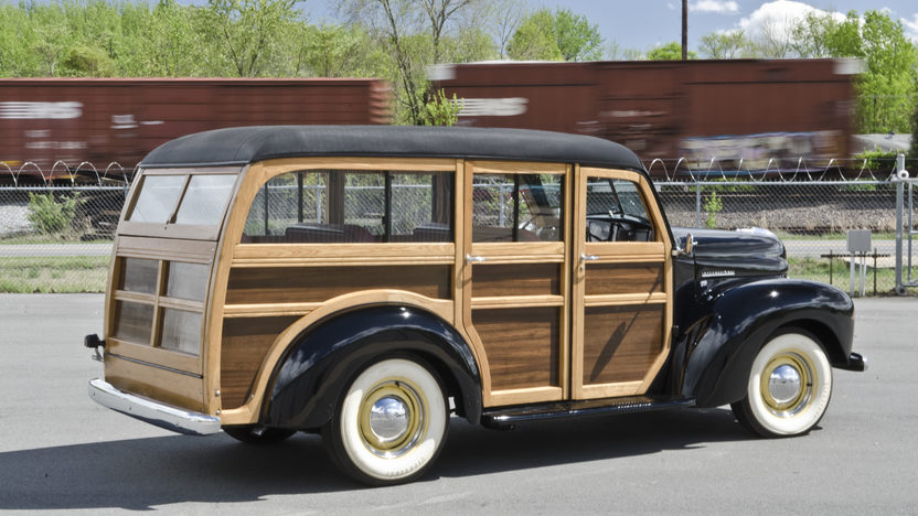 1948 International KB Woody Wagon presented as lot S29 at North Little Rock, AR 2012 - image10