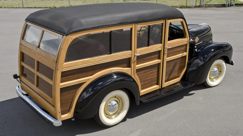 1948 International KB Woody Wagon presented as lot S29 at North Little Rock, AR 2012 - image11