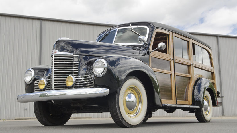 1948 International KB Woody Wagon presented as lot S29 at North Little Rock, AR 2012 - image12
