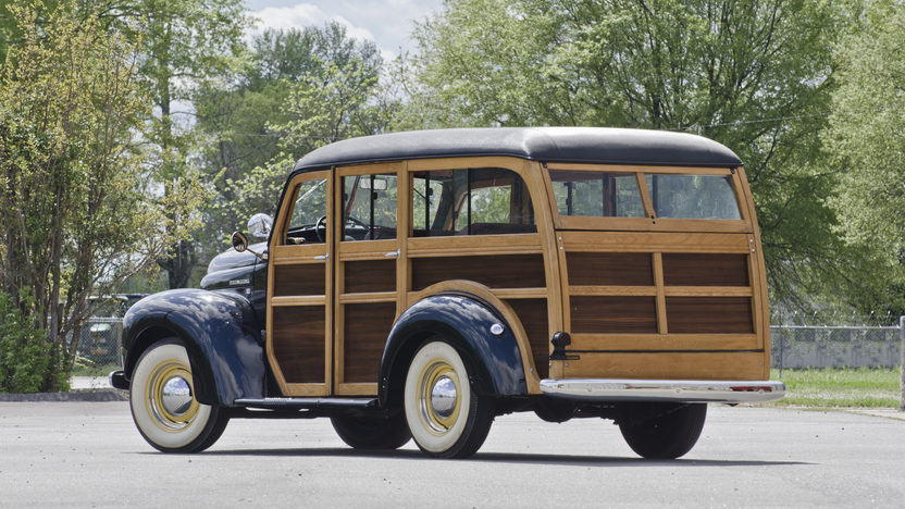 1948 International KB Woody Wagon presented as lot S29 at North Little Rock, AR 2012 - image2