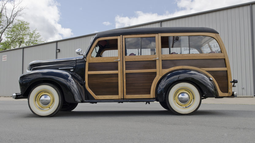 1948 International KB Woody Wagon presented as lot S29 at North Little Rock, AR 2012 - image3