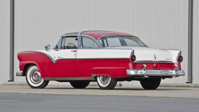 1955 Ford Crown Victoria Glass Top 272 CI, Automatic presented as lot S30 at North Little Rock, AR 2012 - image2