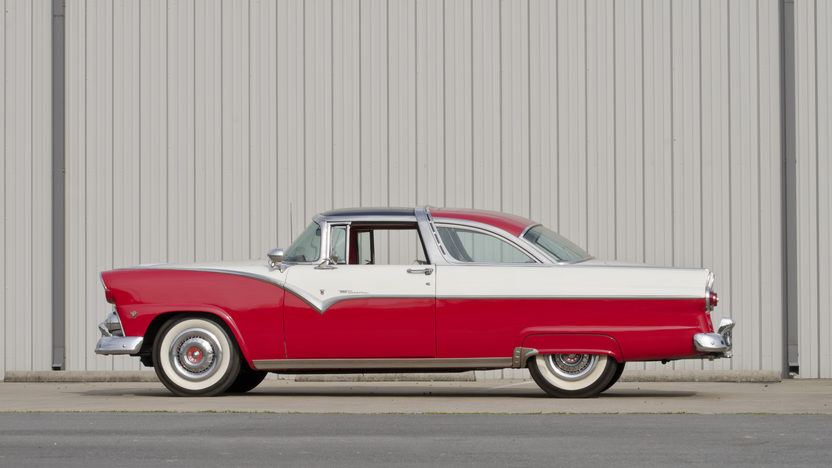 1955 Ford Crown Victoria Glass Top 272 CI, Automatic presented as lot S30 at North Little Rock, AR 2012 - image3