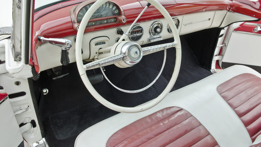 1955 Ford Crown Victoria Glass Top 272 CI, Automatic presented as lot S30 at North Little Rock, AR 2012 - image4