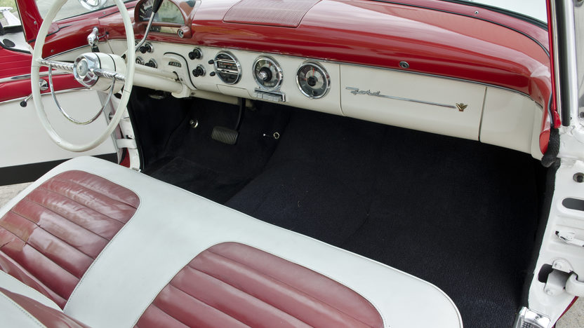 1955 Ford Crown Victoria Glass Top 272 CI, Automatic presented as lot S30 at North Little Rock, AR 2012 - image5