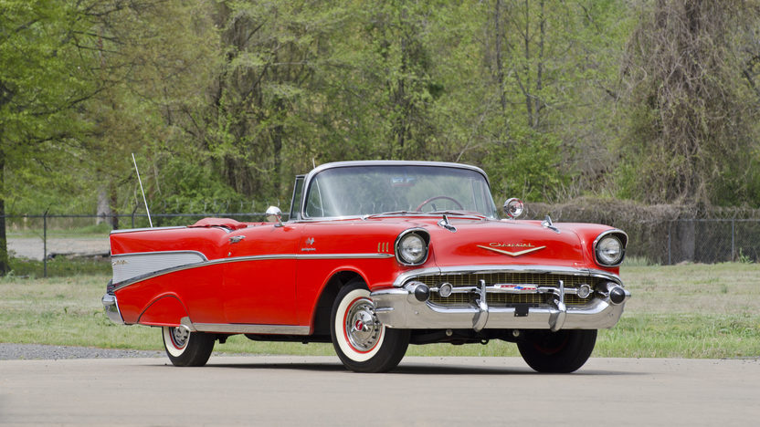 1957 Chevrolet Bel Air Fuelie Convertible 283/250 HP, Automatic presented as lot S34 at North Little Rock, AR 2012 - image10