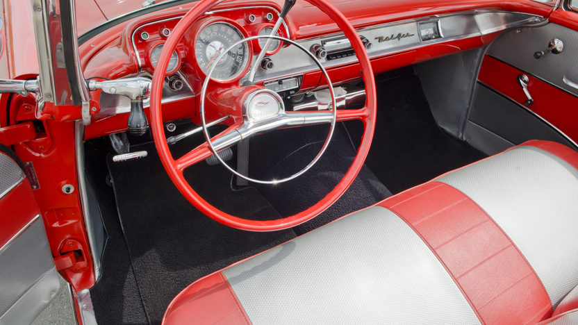 1957 Chevrolet Bel Air Fuelie Convertible 283/250 HP, Automatic presented as lot S34 at North Little Rock, AR 2012 - image4