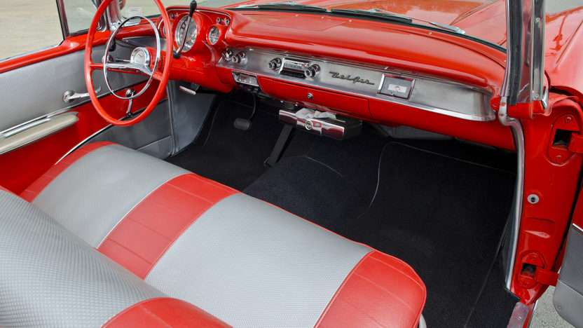 1957 Chevrolet Bel Air Fuelie Convertible 283/250 HP, Automatic presented as lot S34 at North Little Rock, AR 2012 - image7