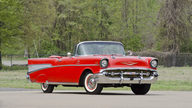 1957 Chevrolet Bel Air Fuelie Convertible 283/250 HP, Automatic presented as lot S34 at North Little Rock, AR 2012 - thumbail image10