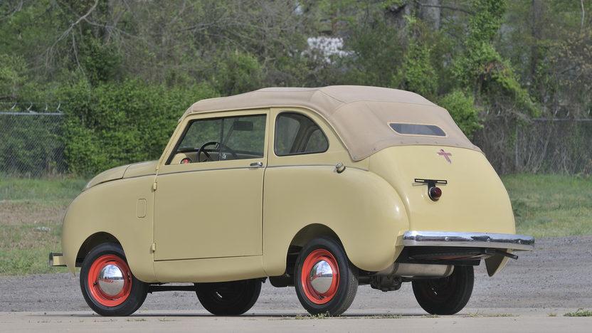 1947 Crosley Sedan Convertible 44 CI, 3-Speed presented as lot S54 at North Little Rock, AR 2012 - image2