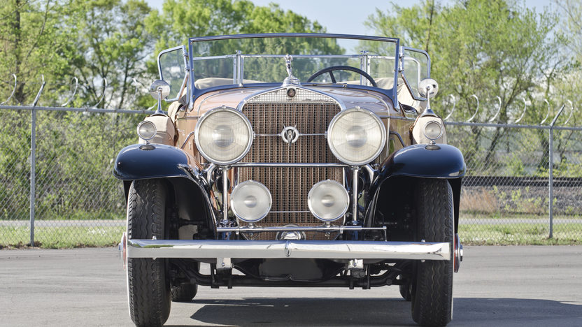1931 Cadillac Fleetwood Dual Cowl Phaeton 353 CI, 3-Speed presented as lot S75 at North Little Rock, AR 2012 - image11