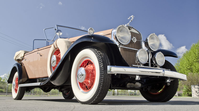 1931 Cadillac Fleetwood Dual Cowl Phaeton 353 CI, 3-Speed presented as lot S75 at North Little Rock, AR 2012 - image12
