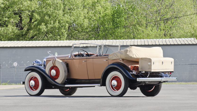 1931 Cadillac Fleetwood Dual Cowl Phaeton 353 CI, 3-Speed presented as lot S75 at North Little Rock, AR 2012 - image2