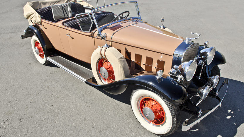 1931 Cadillac Fleetwood Dual Cowl Phaeton 353 CI, 3-Speed presented as lot S75 at North Little Rock, AR 2012 - image3