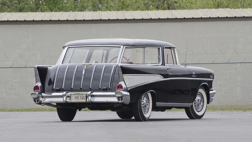 1957 Chevrolet Nomad Fuelie 283/250 HP, Automatic presented as lot S76 at North Little Rock, AR 2012 - image8