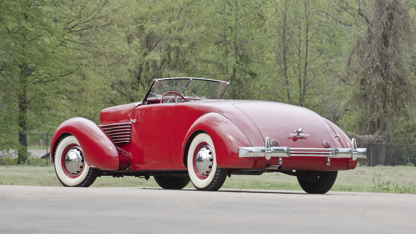 1936 Cord 810 Sportsman Convertible Coupe 288 CI, Automatic presented as lot S79 at North Little Rock, AR 2012 - image2