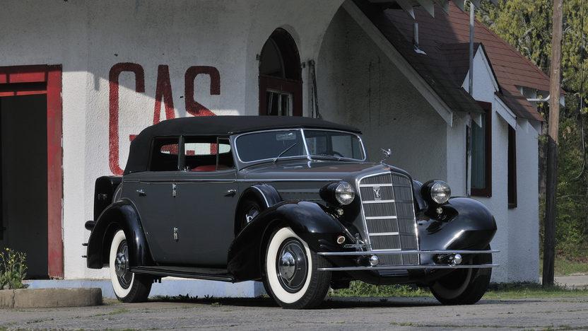 1934 Cadillac Fleetwood V12 All-Weather Phaeton