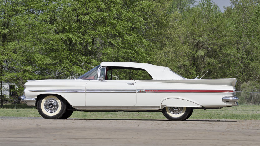 1959 Chevrolet Impala Convertible 348/280 HP, 4-Speed presented as lot S82 at North Little Rock, AR 2012 - image2