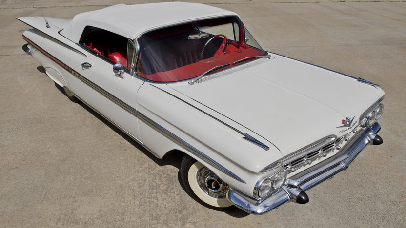 1959 Chevrolet Impala Convertible 348/280 HP, 4-Speed presented as lot S82 at North Little Rock, AR 2012 - image8