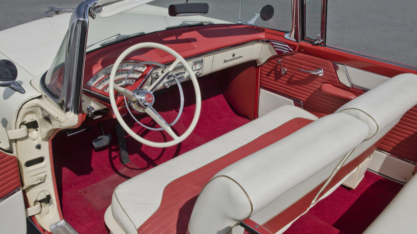1956 Mercury Montclair Convertible 312 CI, Automatic presented as lot S120 at North Little Rock, AR 2012 - image4