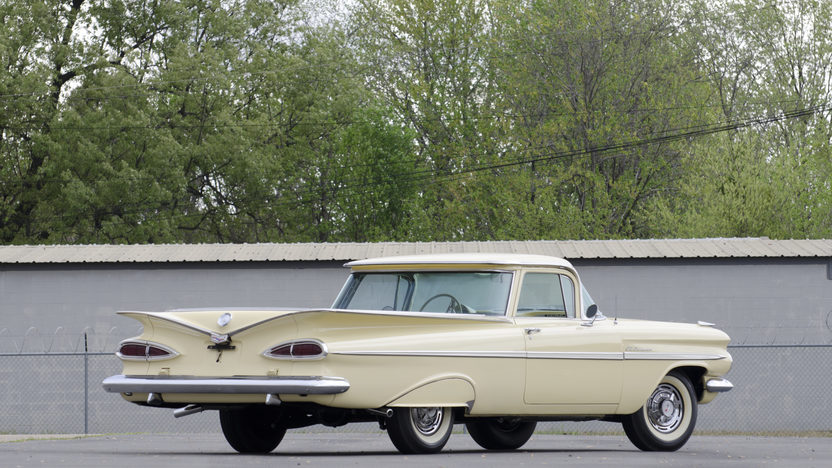 1959 Chevrolet El Camino 348/280 HP, 4-Speed presented as lot S122 at North Little Rock, AR 2012 - image2
