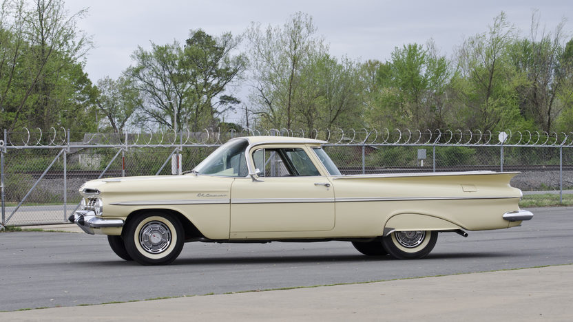 1959 Chevrolet El Camino 348/280 HP, 4-Speed presented as lot S122 at North Little Rock, AR 2012 - image3
