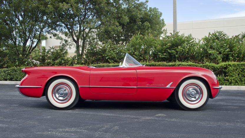 1954 Chevrolet Corvette Roadster Full Restoration, Custom Paint and Interior presented as lot S47 at Boynton Beach, FL 2013 - image3