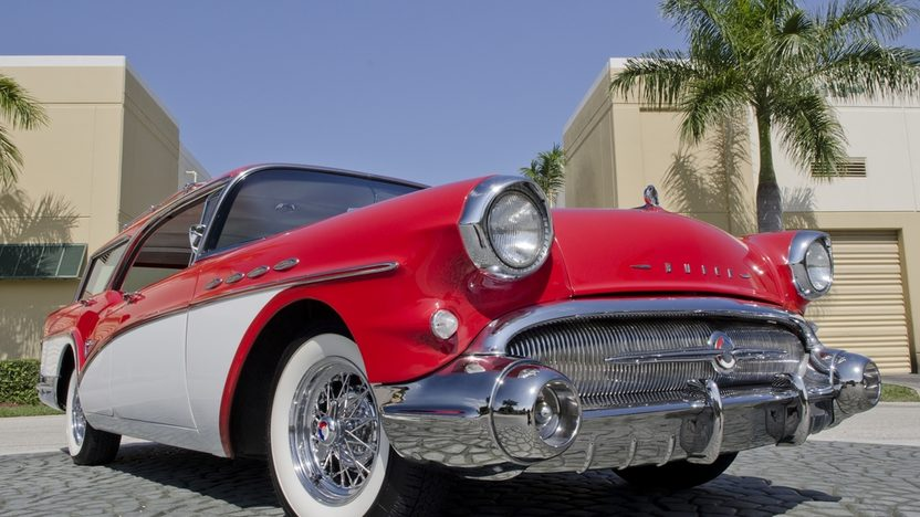1957 Buick Caballero Wagon 364 CI, Automatic presented as lot S46 at Boynton Beach, FL 2013 - image12