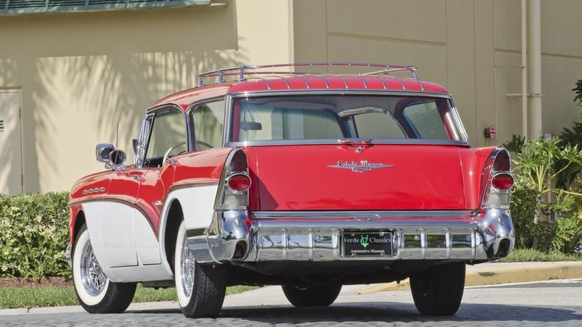 1957 Buick Caballero Wagon 364 CI, Automatic presented as lot S46 at Boynton Beach, FL 2013 - image2