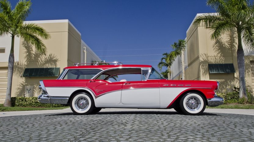 1957 Buick Caballero Wagon 364 CI, Automatic presented as lot S46 at Boynton Beach, FL 2013 - image3