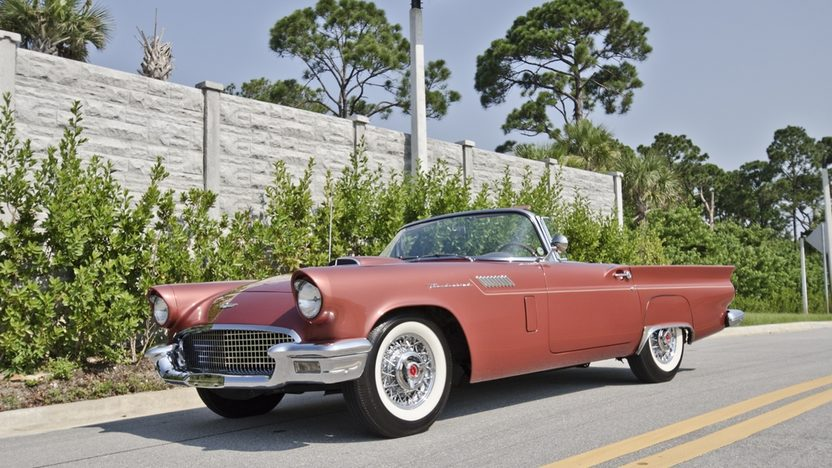 1957 Ford Thunderbird 312 CI, Automatic, Two Tops presented as lot S21 at Boynton Beach, FL 2013 - image10