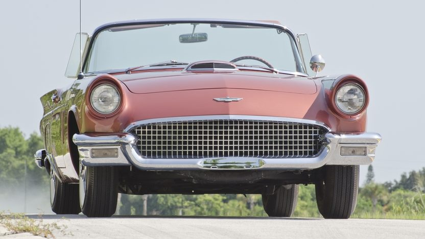 1957 Ford Thunderbird 312 CI, Automatic, Two Tops presented as lot S21 at Boynton Beach, FL 2013 - image12