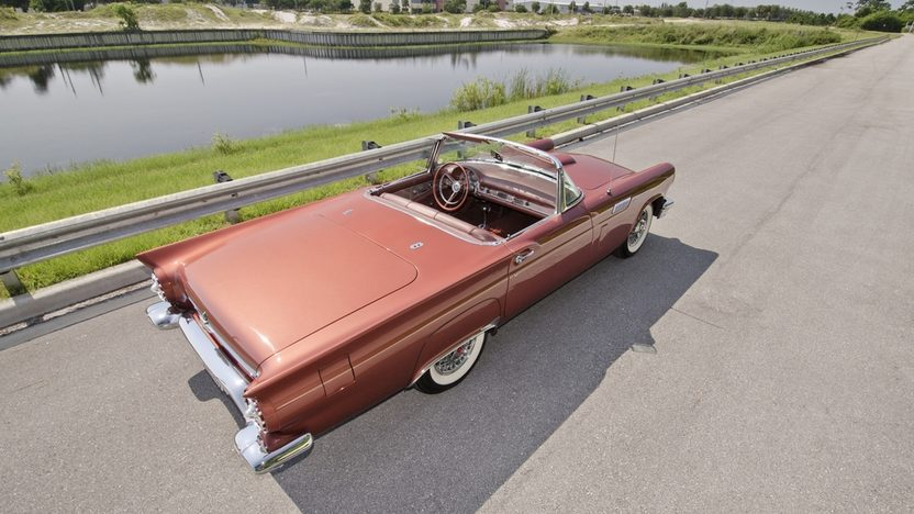 1957 Ford Thunderbird 312 CI, Automatic, Two Tops presented as lot S21 at Boynton Beach, FL 2013 - image2