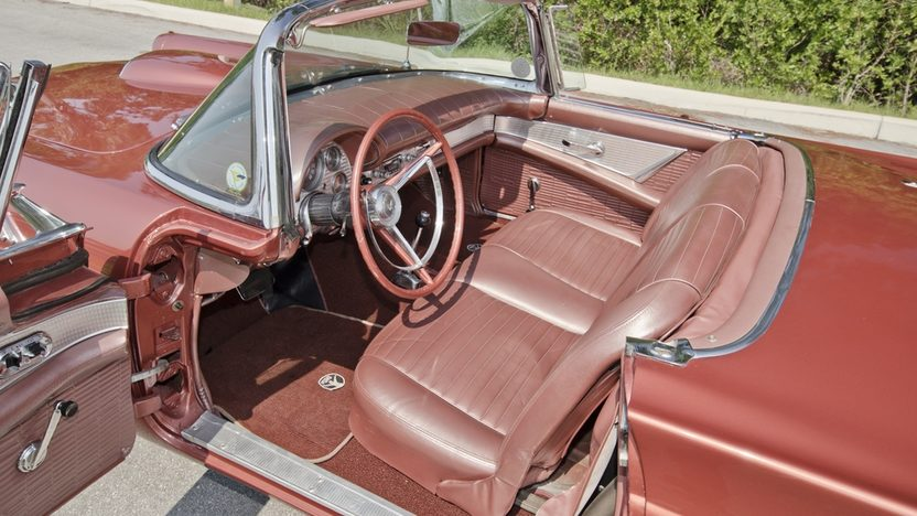 1957 Ford Thunderbird 312 CI, Automatic, Two Tops presented as lot S21 at Boynton Beach, FL 2013 - image4