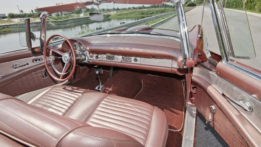 1957 Ford Thunderbird 312 CI, Automatic, Two Tops presented as lot S21 at Boynton Beach, FL 2013 - image5
