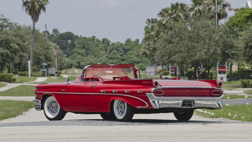 1959 Pontiac Catalina Convertible 389 CI, Automatic presented as lot S25 at Boynton Beach, FL 2013 - image2