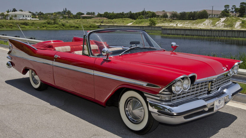 1959 Plymouth Sport Fury Convertible Mecum Boynton Beach