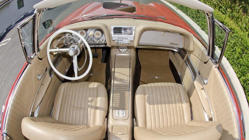 1960 Ford Thunderbird Convertible 430 CI, Tri-Power Intake presented as lot S59 at Boynton Beach, FL 2013 - image4