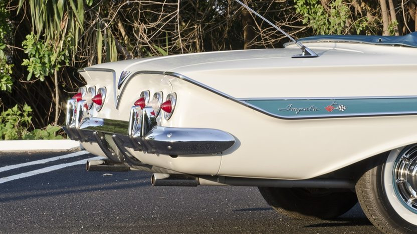 1961 Chevrolet Impala Convertible 348 CI, Automatic presented as lot S35 at Boynton Beach, FL 2013 - image10