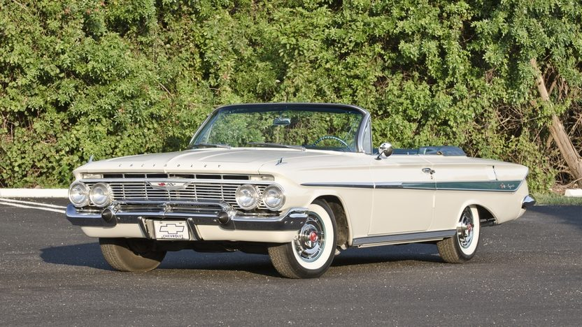 1961 Chevrolet Impala Convertible 348 CI, Automatic presented as lot S35 at Boynton Beach, FL 2013 - image11
