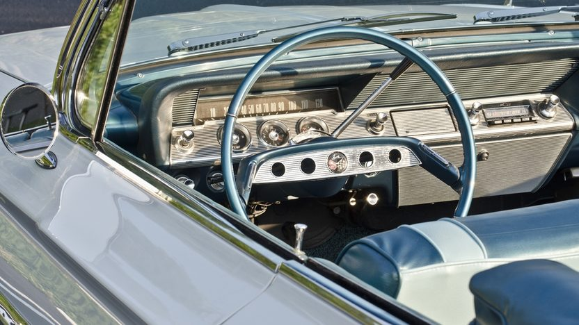 1961 Chevrolet Impala Convertible 348 CI, Automatic presented as lot S35 at Boynton Beach, FL 2013 - image4
